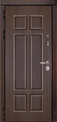 Входная металлическая дверь HAUSDOORS HD4 (Зеркало белое)