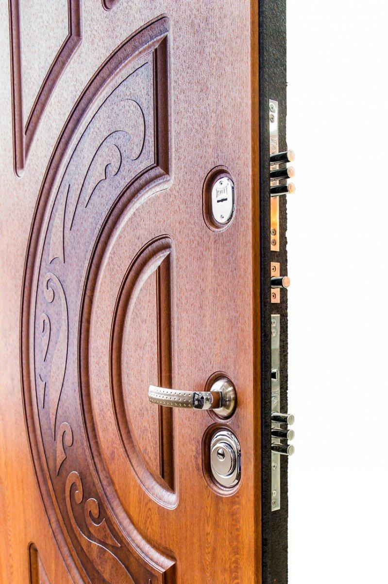 входная дверь железо мдф недорого